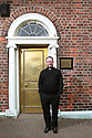 Father Eugene O'Neill outside St Patrick's Presbytery Donegall Street, Belfast, Tuesday June 25th, 2019. (Photo by Paul McErlane for the Belfast Telegraph)