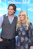 Mike Fisher and Carrie Underwood at Fox's 'American Idol 2012' Finale Results Show at Nokia Theatre L.A. Live on May 23, 2012 in Los Angeles, California. © mpi27/MediaPunch Inc.