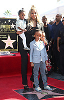 HOLLYWOOD, CA - JANUARY 11: Mary J. Blige, Her Niece and Nephew, at Mary J. Blige Is Honored With A Star On The Hollywood Walk of Fame at On The Hollywood Walk of Fame in Hollywood, California on January 11, 2018. <br /> CAP/ADM/FS<br /> &copy;FS/ADM/Capital Pictures