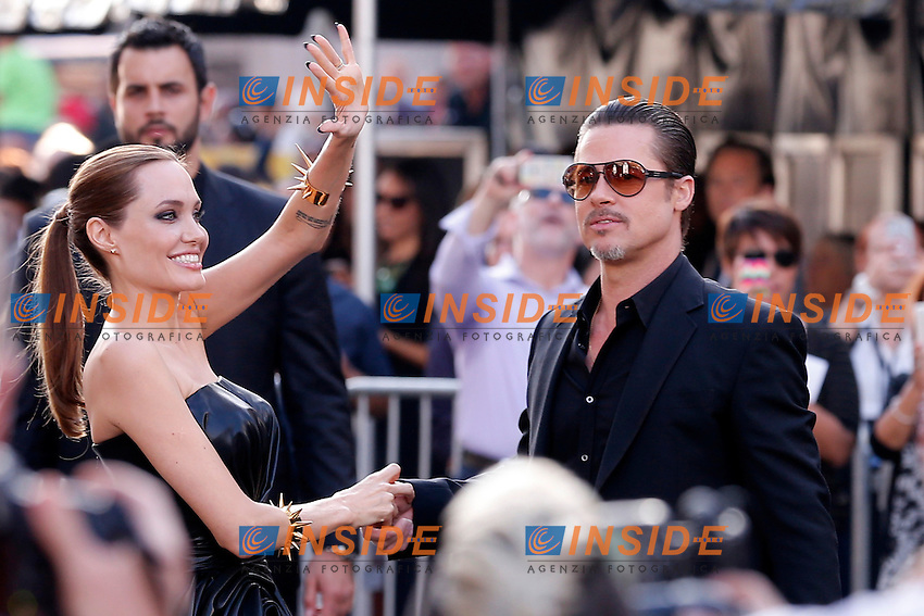 Angelina Jolie, Brad Pitt<br /> Los Angeles 28-05-2014 <br /> premiere Maleficent <br /> Foto Panoramic USA / Insidefoto