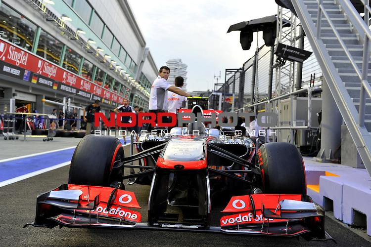 19.-22.09.2013, Marina-Bay-Street-Circuit, Singapur, SIN, F1, Grosser Preis von Singapur, Singapur, McLaren - Mercedes MP4-28  <br />  Foto &copy; nph / Mathis