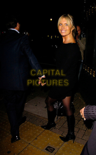 "TINA HOBLEY.At the After Party for ""Dirty Dancing: The Classic Story On Stage"" , Banqueting House, London, England, .October 24th 2006..full length black dress.Ref: CAN.www.capitalpictures.com.sales@capitalpictures.com.©Can Nguyen/Capital Pictures"