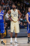 Aaron Rountree III (33) of the Wake Forest Demon Deacons during first half action against the UNC Asheville Bulldogs at the LJVM Coliseum on November 14, 2014 in Winston-Salem, North Carolina.  The Demon Deacons defeated the Bulldogs 80-69  (Brian Westerholt/Sports On Film)