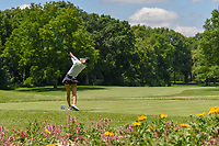 Michelle Wie (USA) watches her tee shot on 11 during round 1 of the 2018 KPMG Women's PGA Championship, Kemper Lakes Golf Club, at Kildeer, Illinois, USA. 6/28/2018.<br /> Picture: Golffile | Ken Murray<br /> <br /> All photo usage must carry mandatory copyright credit (&copy; Golffile | Ken Murray)