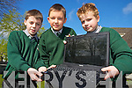 Pictured at the launch of www.monkillarney.net, the new website for the Monastery School, Killarney were Evan Smith, Alan Tessmer and Kamil Radziszewsky.................