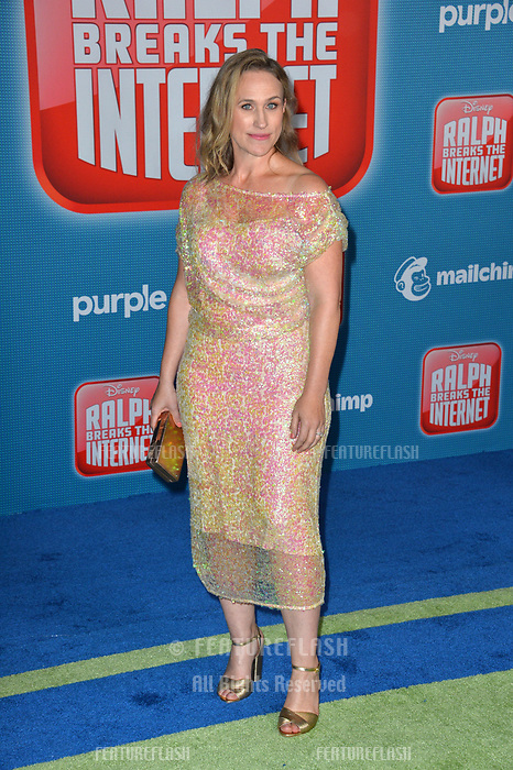 LOS ANGELES, CA. November 05, 2018: Pam Ribon at the world premiere of &quot;Ralph Breaks The Internet&quot; at the El Capitan Theatre.<br /> Picture: Paul Smith/Featureflash