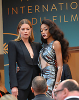 Doutzen Kroes &amp; Winnie Harlow at the gala screening for &quot;Solo: A Star Wars Story&quot; at the 71st Festival de Cannes, Cannes, France 15 May 2018<br /> Picture: Paul Smith/Featureflash/SilverHub 0208 004 5359 sales@silverhubmedia.com