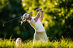 STILLWATER, OK - MAY 21: Jennifer Kupcho of Wake Forest tees off on the 18th during the Division I Women's Golf Individual Championship held at the Karsten Creek Golf Club on May 21, 2018 in Stillwater, Oklahoma. (Photo by Shane Bevel/NCAA Photos via Getty Images)
