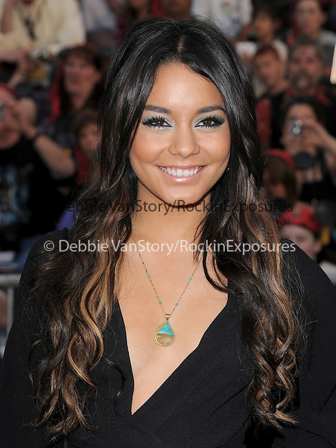 Vanessa Hudgens at Walt Disney Pictures Premiere of Pirates of the Caribbean : On Stranger Tides held at Disneyland in Anaheim, California on May 07,2011                                                                               © 2010 Hollywood Press Agency