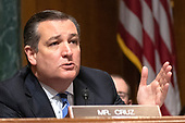 United States Senator Ted Cruz (Republican of Texas) makes an opening statement as the  US Senate Committee on the Judiciary meets to vote on the nomination of Judge Brett Kavanaugh to be Associate Justice of the US Supreme Court to replace the retiring Justice Anthony Kennedy on Capitol Hill in Washington, DC on Friday, September 28, 2018.  If the committee votes in favor of Judge Kavanaugh then it goes to the full US Senate for a final vote.<br /> Credit: Ron Sachs / CNP<br /> (RESTRICTION: NO New York or New Jersey Newspapers or newspapers within a 75 mile radius of New York City)