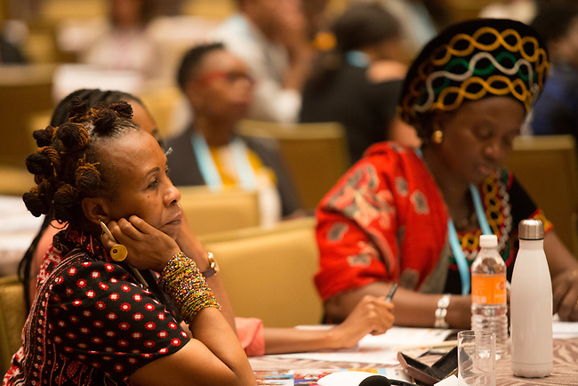 25 June, 2018, Kuala Lumpur, Malaysia : Participants during the opening sessions at the This Time For Africa seminar at the Girls Not Brides Global Meeting 2018 at the Kuala Lumpur Convention Centre. Picture by Graham Crouch/Girls Not Brides