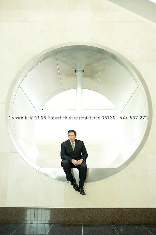 Michael Blake - CFO - Kaiser Permanente IT Department: Executive portrait photographs by San Francisco - corporate and annual report - photographer Robert Houser.
