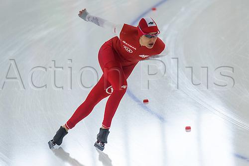 January 29th 2017, Sportforum, Berlin, Germany; ISU Speed Skating World Cup;  ISU Speed Skating World Cup; Magdalena Czyszczon (POL)