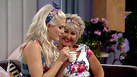 Ashley James and Maggie Oliver.<br /> Celebrity Big Brother 2018 - Day 8<br /> *Editorial Use Only*<br /> CAP/KFS<br /> Image supplied by Capital Pictures