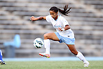 26 August 2012: UNC's Bianca Gray. The University of North Carolina Tar Heels defeated the University of Montreal Caribins 1-0 in overtime at Fetzer Field in Chapel Hill, North Carolina in an international women's collegiate friendly game.