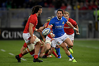Michele Campagnaro Italy, Josh Navidi Wales.<br />  <br /> Roma 9-02-2019 Stadio Olimpico<br /> Rugby Six Nations tournament 2019  <br /> Italy - Wales <br /> Foto Antonietta Baldassarre / Insidefoto