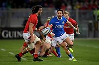 Michele Campagnaro Italy, Josh Navidi Wales.<br />  <br /> Roma 9-02-2019 Stadio Olimpico<br /> Rugby Six Nations tournament 2019  <br /> Italy - Wales <br /> Foto Antonietta Baldassarre / Insidefoto
