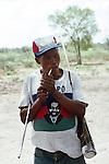 Snn hunter  Tchumkwe, Bushman land, Namibia