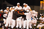 May 31, 2015: during the NCAA Baseball Regional game between the UCLA Bruins and the Maryland Terrapins Westwood, California. UCLA wins 4-2 in 9 innings.