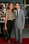 """HOLLYWOOD, CA. - September 03: Amy Morris and Julian Morris arrive at the Los Angeles premiere of """"Sorority Row"""" at the ArcLight Hollywood theater on September 3, 2009 in Hollywood, California."""