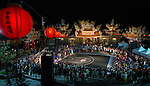 Ting-Wei Liu of Taiwan performs in the international slam-dunk contest at TinHau Temple ahead of the Red Bull King of the Rock World Finals, Taitung City, Taiwan, on September 5th 2014.