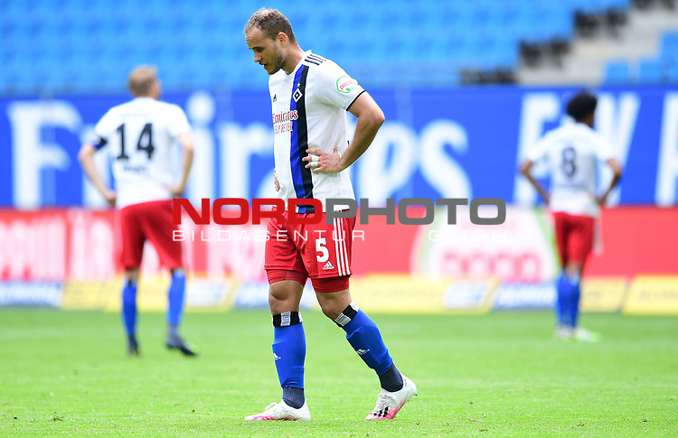 Ewerton (HSV)<br />Hamburg, 28.06.2020, Fussball 2. Bundesliga, Hamburger SV - SV Sandhausen<br />Foto: Tim Groothuis/Witters/Pool//via nordphoto<br /> DFL REGULATIONS PROHIBIT ANY USE OF PHOTOGRAPHS AS IMAGE SEQUENCES AND OR QUASI VIDEO<br />EDITORIAL USE ONLY<br />NATIONAL AND INTERNATIONAL NEWS AGENCIES OUT
