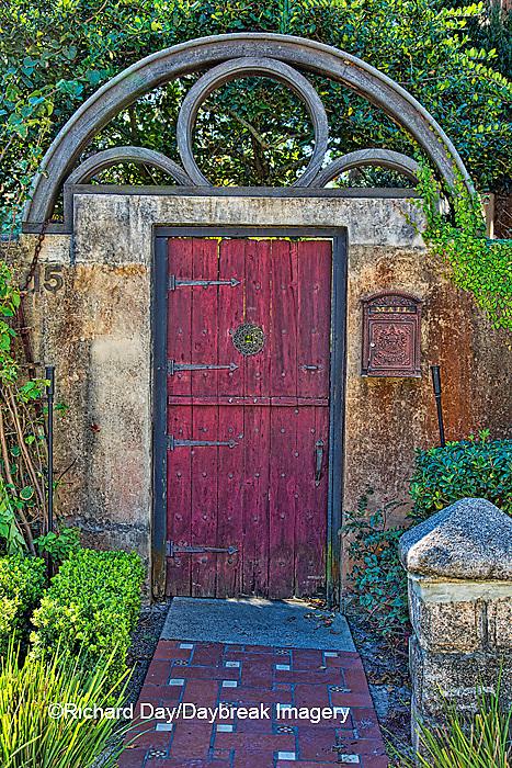 63412-01117 Red gate in St Augustine, FL