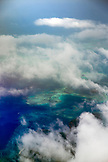 INDONESIA, Flores, view of the Indian Ocean from the air between Labuan Bajo and Ende