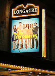 Theatre Marquee for the Broadway Opening Night Performance Curtain Call for 'The Performers' at the Longacre Theatre in New York City on 11/14/2012