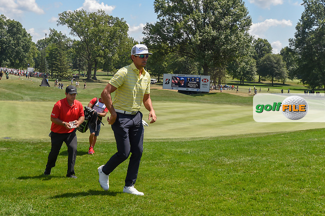 Rafael Cabrera Bello (ESP) heads to 8 during 3rd round of the World Golf Championships - Bridgestone Invitational, at the Firestone Country Club, Akron, Ohio. 8/4/2018.<br /> Picture: Golffile | Ken Murray<br /> <br /> <br /> All photo usage must carry mandatory copyright credit (© Golffile | Ken Murray)