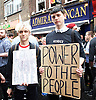 Vigil for the people murdered in the Pulse Club shooting in Orlando Florida by Omar Mateen<br /> in Old Compton Street, London, Great Britain <br /> 13th June 2016 <br /> <br /> with Sadiq Khan <br /> Mayor of London <br /> <br /> Jeremy Corbyn <br /> Leader of the labour Party <br /> <br /> Matthew Barzun  - United States Ambassador to the United Kingdom<br /> Ambassador of the United States <br /> <br /> Photograph by Elliott Franks <br /> Image licensed to Elliott Franks Photography Services