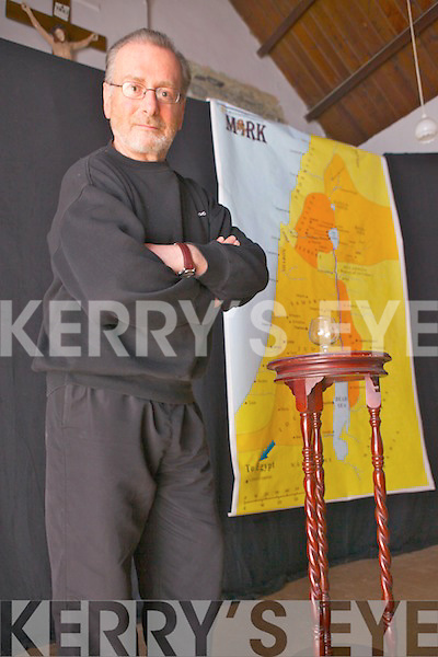 A dramatisation of Mark's Gospel is being played out through monologue in Lixnaw Convent Hall twice a week by actor Mike O'Mahony from Ardfert.