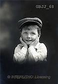 Jonny, CHILDREN, nostalgic, paintings(GBJJ68,#K#) Kinder, niños, nostalgisch, nostálgico
