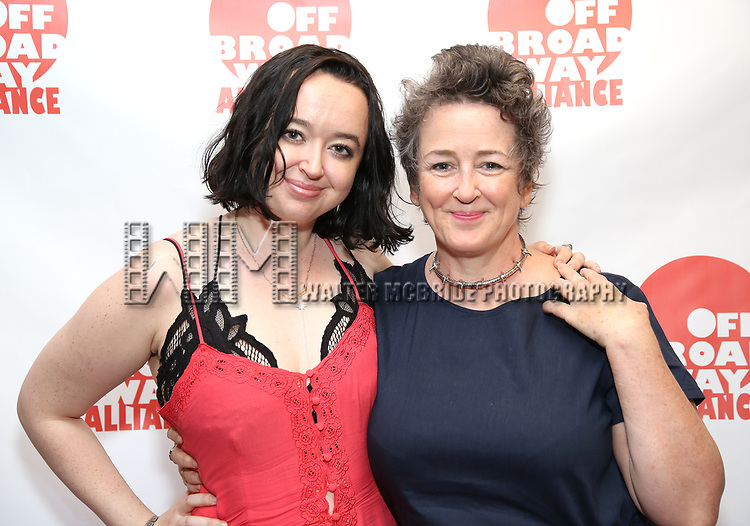 Alisa Houghton and Karen Houghton attends the 7th Annual Off Broadway Alliance Awards at Sardi's on June 20, 2017 in New York City.