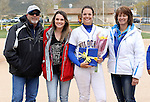 Kelsie Callahan at the Sophomore Day celebration after the first game of the Western Nevada College softball doubleheader on Saturday, April 30, 2016 at Pete Livermore Sports Complex. Photo by Shannon Litz/Nevada Photo Source