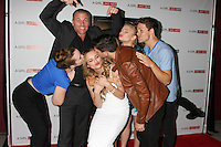 """LOS ANGELES - MAR 27:  Sean Carrigan, Camryn Grimes, Hunter King, Melissa Ordway, Kelli Goss, Robert Adamson, Lachlan Buchanan at the """"A Girl Like Her"""" Screening at the ArcLight Hollywood Theaters on March 27, 2015 in Los Angeles, CA"""