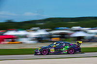 Porsche GT3 Cup Challenge USA<br /> Road America<br /> Road America, Elkhart Lake, WI USA<br /> Sunday 6 August 2017<br /> 52, Kurt Fazekas, GT3G, USA, 2016 Porsche 991<br /> World Copyright: Jake Galstad<br /> LAT Images