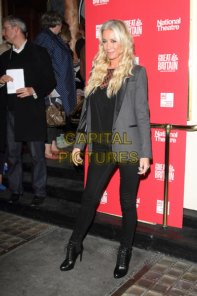 LONDON, ENGLAND, SEP 26: Denise Van Outen at the Opening Night of 'Great Britain' at the Theatre Royal, Haymarket, London on September 26th 2014, England, UK.<br /> CAP/ROS<br /> &copy;Steve Ross/Capital Pictures
