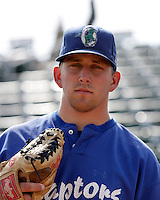 Graham Miller - Ogden Raptors (2009 Pioneer League)..Photo by:  Bill Mitchell/Four Seam Images..