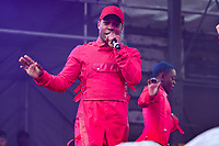Washington, DC - June 9, 2019: Singer, dancer Todrick Hall performs at the Capital Pride concert in Washington, DC June 9, 2019. Hall became widely known as a contestant on American Idol season 9. (Photo by Don Baxter/Media Images International)