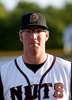 Connor Graham -  2009 Modesto Nuts .Photo by:  Bill Mitchell/Four Seam Images