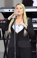 October 11, 2018  Meghan Trainor at Today Show Michelle Obama announces the Obama Foundation's Global Girls Alliance to Support Adolescent Girls Education Around the World on International Day of the Girl   at Rockefeller Center Plaza in New York October 11, 2018 Credit:RW/MediaPunch