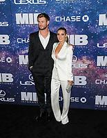 "11 June 2019 - New York, New York - Chris Hemsworth, Elsa Pataky. ""Men In Black: International"" New York Premiere held at AMC Lincoln Square. Photo Credit: Mario Santoro/AdMedia"