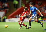 08.05.2018 Aberdeen v Rangers: Graeme Shinnie and Sean Goss