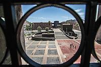 vista panorámica de Centro de Gobierno en el Vado del Rio de Hermosillo, Sonora