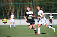 20190921 – LEUVEN, BELGIUM : E. Aalst player is pictured during a women soccer game between  Oud Heverlee Leuven Ladies B and Eendracht Aalst Ladies on the fourth matchday of the Belgian Division 1 season 2019-2020, the Belgian women's football  national division 1, Saturday 21th September 2019 at the Bruinveld Youth Complex, Domeinstraat in Leuven , Belgium. PHOTO SPORTPIX.BE | SEVIL OKTEM