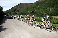 (R to L) Jesus Hernandez, Daniel Moreno, Joaquin Purito Rodriguez and Alejandro Valverde during the stage of La Vuelta 2012 between Palas de Rei and Puerto de Ancares.September 1,2012. (ALTERPHOTOS/Paola Otero) NortePhoto.com<br /> <br /> **CREDITO*OBLIGATORIO** <br /> *No*Venta*A*Terceros*<br /> *No*Sale*So*third*<br /> *** No*Se*Permite*Hacer*Archivo**<br /> *No*Sale*So*third*
