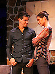 """Brenda Withers and Davy Raphaely star in """"Other Desert Cities"""" at the tech rehearsal (in costume) on October 14, 2015 at Whippoorwill Halll Theatre, North Castle Library, Kent Place, Armonk, New York.  (Photo by Sue Coflin/Max Photos)"""
