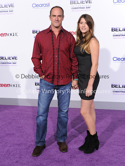 LOS ANGELES, CA - December 18: Chris Meloni arrives at Justin Bieber`s Believe World Premiere held at The Premiere House at Regal Cinemas L.A. Live in Los Angeles, California on December 18,2013                                                                               © 2013 Hollywood Press Agency