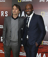 NEW YORK, NY-October 26: Olivier Martinez, Sammi Rotibi  at National Geographic Channel presents the Epic Six-Part Event Series MARS premiere at the School of Visual Arts  in New York.October 26, 2016. Credit:RW/MediaPunch